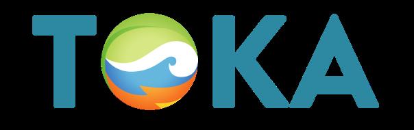 TOKA logo clear acronym only